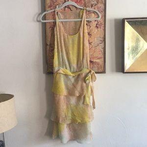 NWT MISSONI ITALY DESIGN FLORAL SILK DRESS 40 S M